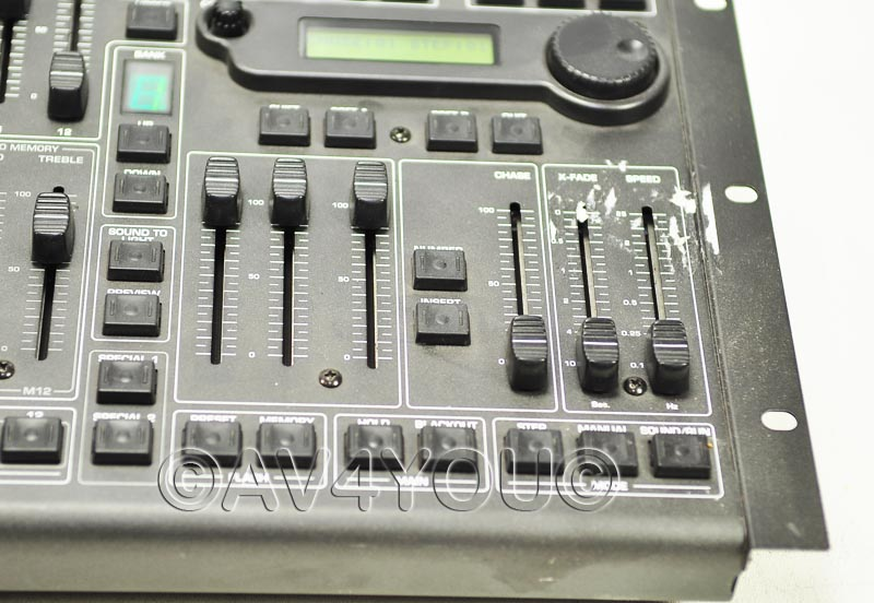 behringer eurolight lc2412 24 channel dmx controller mixer stage ebay. Black Bedroom Furniture Sets. Home Design Ideas