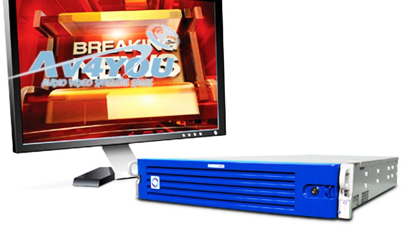 Details about Chyron Powerclips MX 4CH HD/SD Video Clip Server 5x512GB SSD  Full option Playout