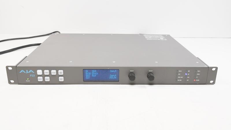 AJA FS3 SD/HD/3G Frame Sync Synchronizer Converter 4K/UltraHD UP ...